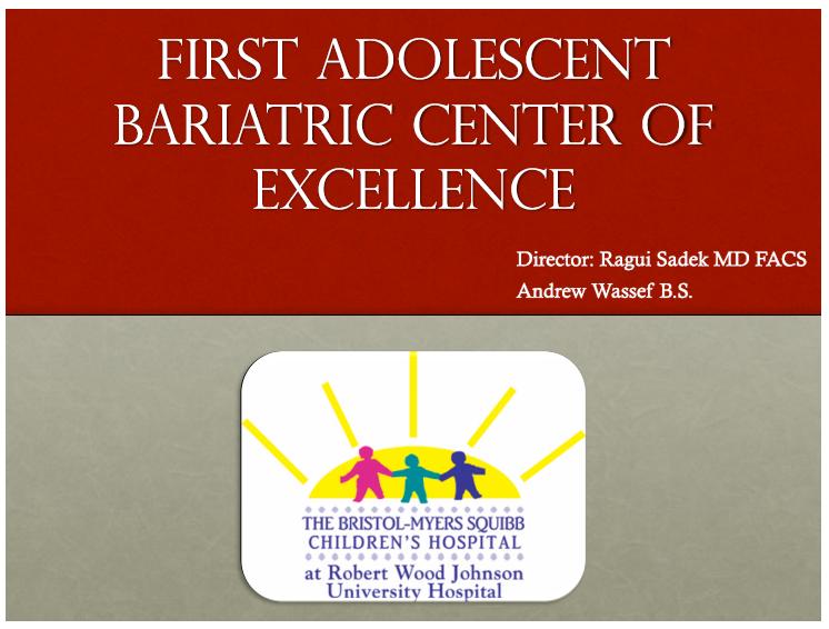 Adolescent Presentation Graphic